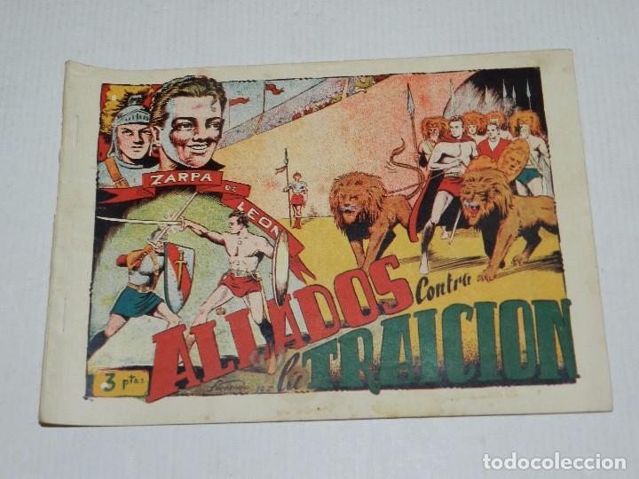 (M3) ZARPA DE LEON NUM 6 , EDICIONES TORAY - ORIGINAL, SEÑALES DE USO (Tebeos y Comics - Toray - Zarpa de León)
