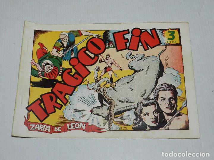 (M3) ZARPA DE LEON NUM 9 , EDICIONES TORAY - ORIGINAL, SEÑALES DE USO (Tebeos y Comics - Toray - Zarpa de León)