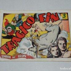 Tebeos: (M3) ZARPA DE LEON NUM 9 , EDICIONES TORAY - ORIGINAL, SEÑALES DE USO. Lote 69943009