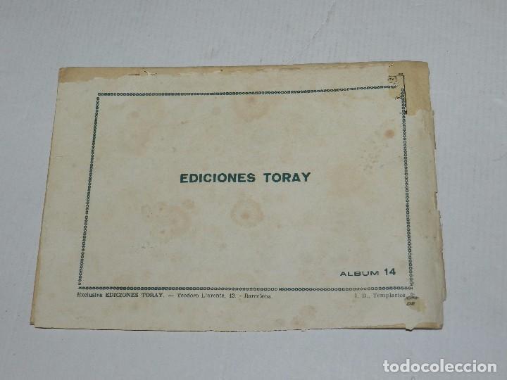Tebeos: (M3) ZARPA DE LEON NUM 14 , EDICIONES TORAY - ORIGINAL, LOMO CON ROTURITAS - Foto 2 - 69943297