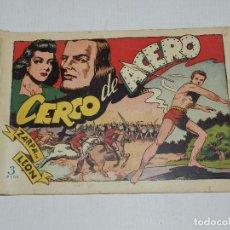Tebeos: (M3) ZARPA DE LEON NUM 15 , EDICIONES TORAY - ORIGINAL, LOMO CON ROTURITAS. Lote 69943389