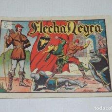 Tebeos: (M3) FLECHA NEGRA NUM 1 , EDICIONES TORAY, LOMO CON ROTURITAS. Lote 69943725