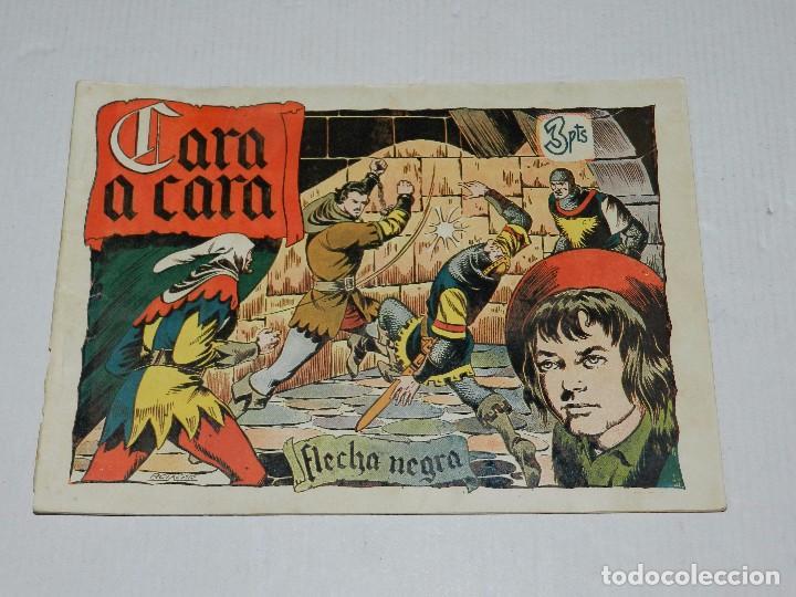 (M3) FLECHA NEGRA NUM 3 , EDICIONES TORAY, LOMO CON ROTURITAS (Tebeos y Comics - Toray - Flecha Negra)
