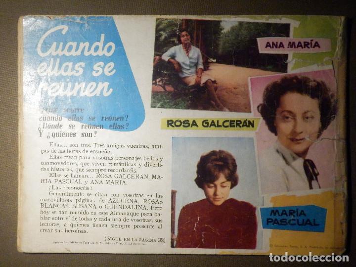 Tebeos: TEBEO - COMIC - COLECCION AZUCENA - Almanaque 1960 - Ediciones TORAY - Foto 2 - 70190401