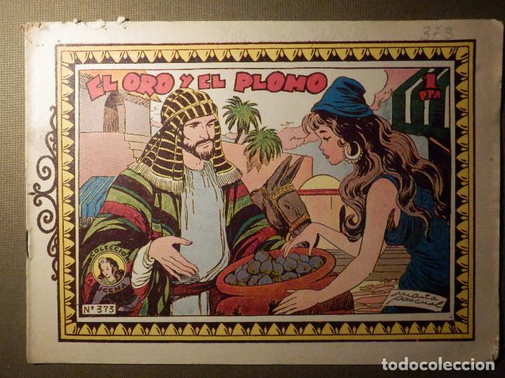 TEBEO - COMIC - COLECCION AZUCENA - EL ORO Y EL PLOMO - Nº 373 - EDICIONES TORAY (Tebeos y Comics - Toray - Azucena)