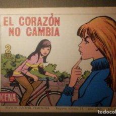Tebeos: TEBEO - COMIC - AZUCENA - EL CORAZÓN CAMBIA - Nº 984 - 1967 - EDICIONES TORAY. Lote 70191357