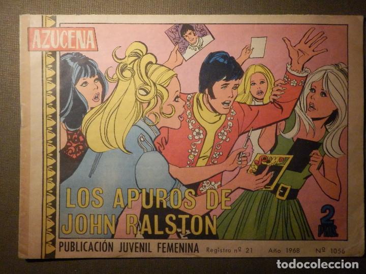 TEBEO - COMIC - AZUCENA - LOS APUROS DE JOHN RALSTON - Nº 1056 - 1968 - EDICIONES TORAY (Tebeos y Comics - Toray - Azucena)