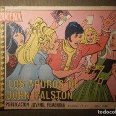 Tebeos: TEBEO - COMIC - AZUCENA - LOS APUROS DE JOHN RALSTON - Nº 1056 - 1968 - EDICIONES TORAY. Lote 70191601