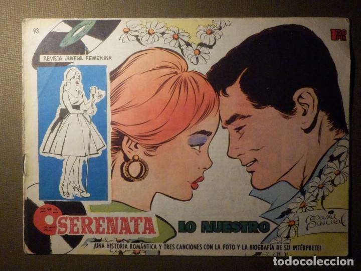 TEBEO - COMIC - SERENATA -,LO NUESTRO - 93 - TORAY (Tebeos y Comics - Toray - Otros)
