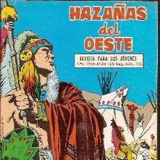 Tebeos: Nº 125 HAZAÑAS DEL OESTE AÑO 1966. Lote 70402505