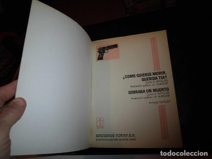 Tebeos: BRIGADA SECRETA Nº8..-EDICIONES TORAY 1982 - Foto 2 - 70584941