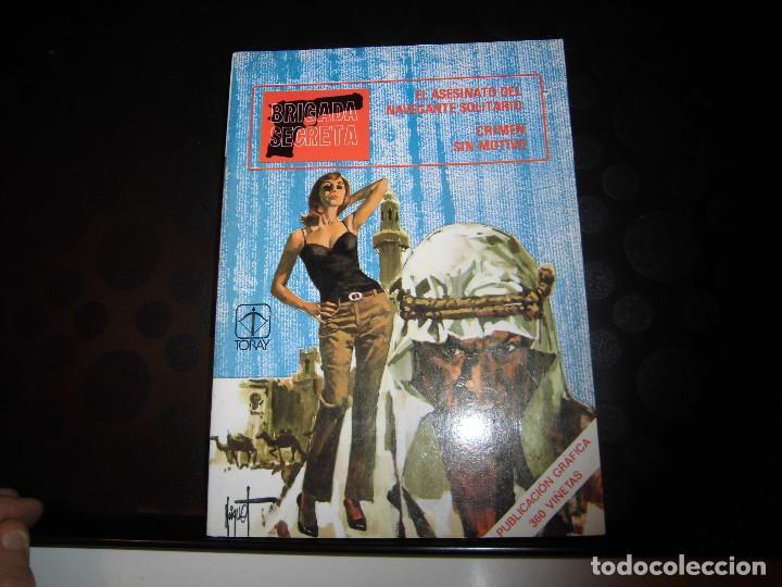 BRIGADA SECRETA Nº5..-EDICIONES TORAY 1982 (Tebeos y Comics - Toray - Brigada Secreta)