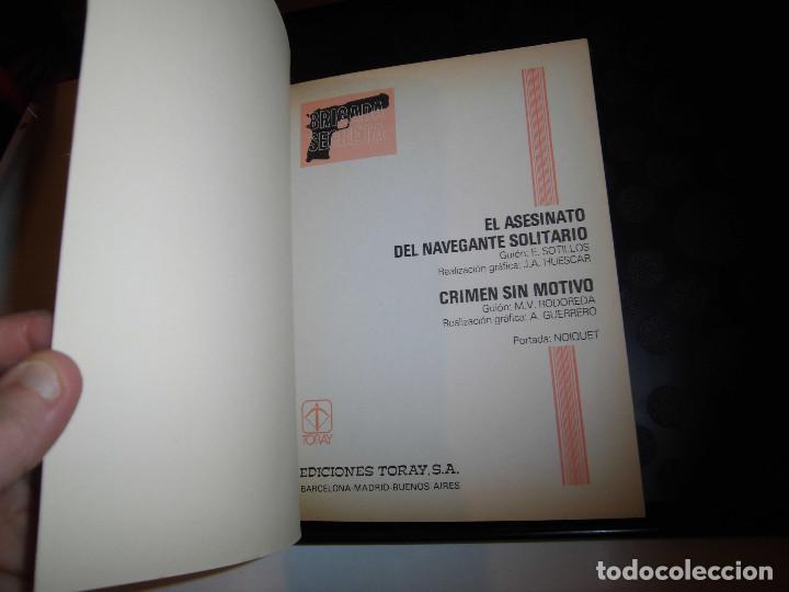 Tebeos: BRIGADA SECRETA Nº5..-EDICIONES TORAY 1982 - Foto 2 - 70585321