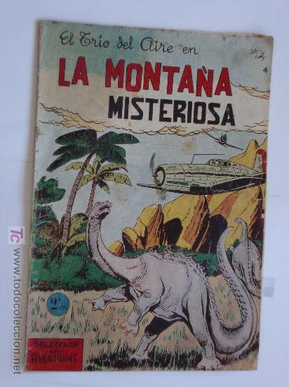 SELECCION DE AVENTURAS TRIO AL AIRE Nº 4 TORAY ORIGINAL (Tebeos y Comics - Toray - Otros)