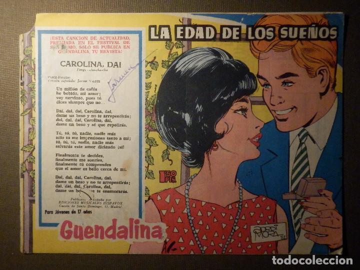 TEBEO COMIC - PARA JÓVENES DE 17 AÑOS - GUENDALINA - LA EDAD EDAD DE LOS SUEÑOS - (Tebeos y Comics - Toray - Guendalina)
