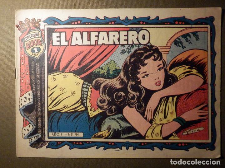 TEBEO - COMIC - COLECCIÓN ALICIA - EL ALFARERO - AÑO II - Nº 94 - (Tebeos y Comics - Toray - Alicia)