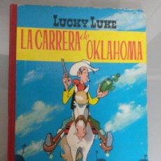 Tebeos: LUCKY LUKE LA CARRERA DE OKLAHOMA 2A 1969 TORAY. Lote 72438377