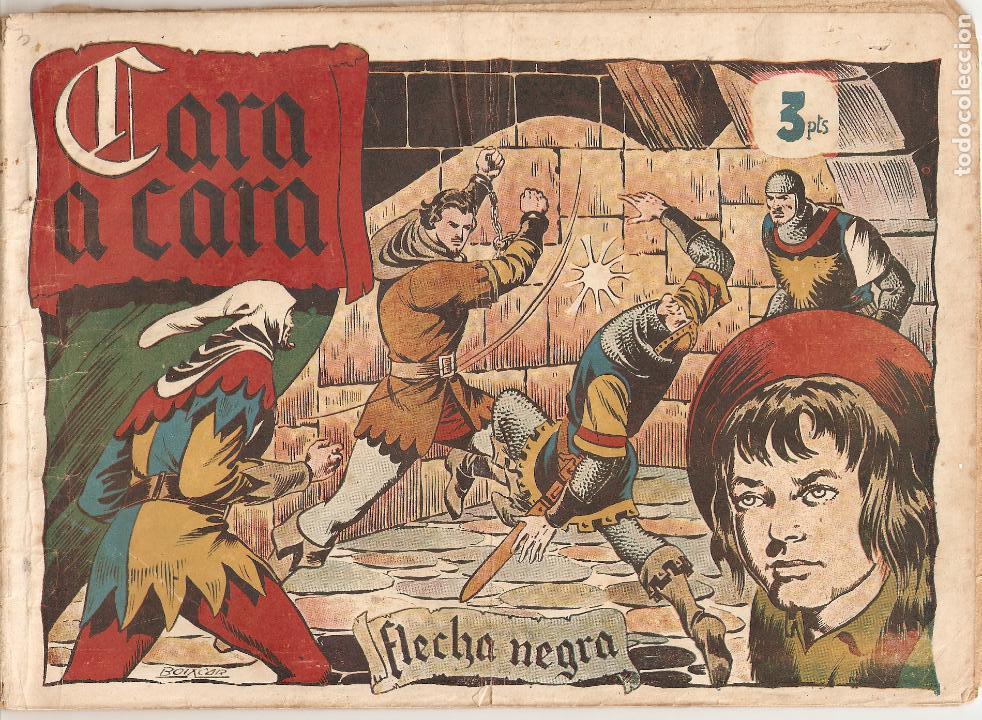 Tebeos: Flecha Negra Album, Año 1.950. Colección Completa Original. Dibujante Boixcar. Editorial Toray. - Foto 7 - 73068555