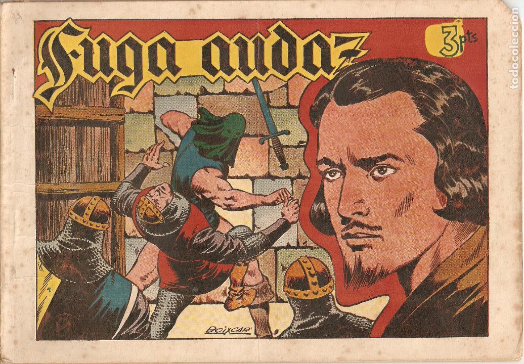 Tebeos: Flecha Negra Album, Año 1.950. Colección Completa Original. Dibujante Boixcar. Editorial Toray. - Foto 8 - 73068555