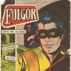 Tebeos: FULGOR, AÑO 1.960. Nº 18. ORIGINAL. EDITORIAL TORAY.. Lote 73069367
