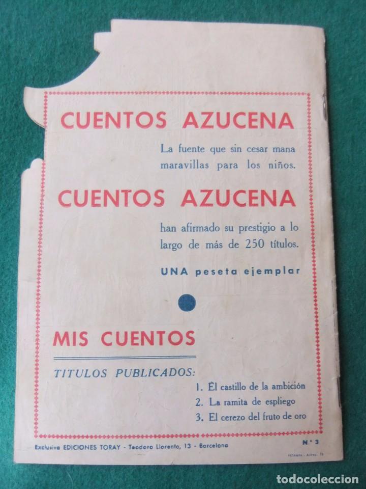 Tebeos: COLECCION MIS CUENTOS Nº 3 EL CEREZO DEL FRUTO DE ORO EDICIONES TORAY - Foto 2 - 73568215