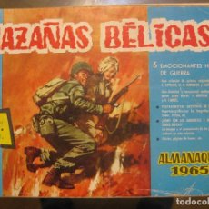 Tebeos: HAZAÑAS BELICAS - SERIE AZUL - ALMANAQUE 1965. Lote 73667015