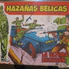 Tebeos: HAZAÑAS BELICAS - SERIE ROJA - Nº157. Lote 73667147