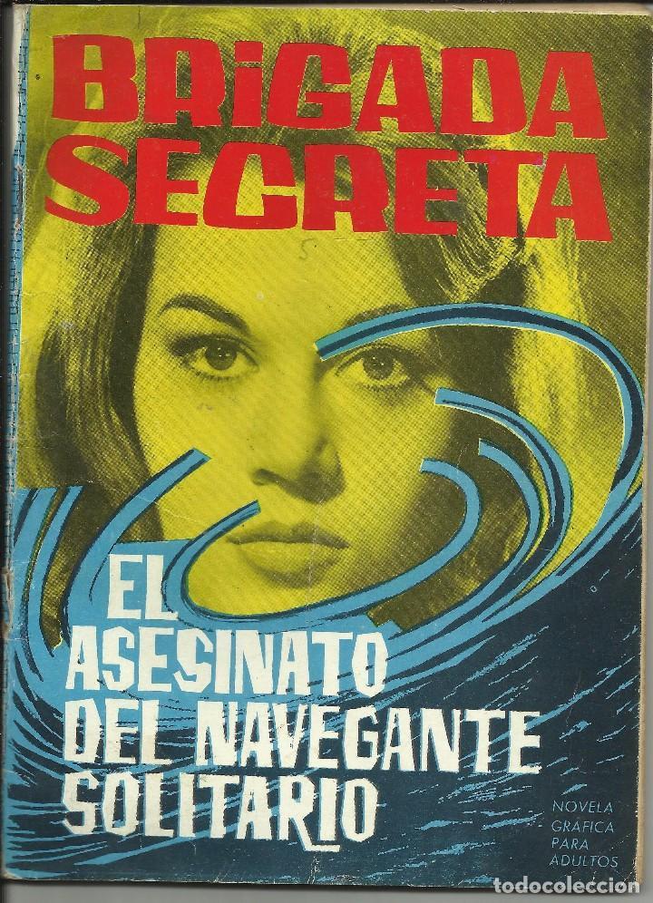 BRIGADA SECRETA; EL ASESINATO DEL …. Nº 29 - 25 OCTUBRE 1963 (Tebeos y Comics - Toray - Brigada Secreta)