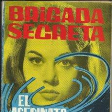 Tebeos: BRIGADA SECRETA; EL ASESINATO DEL …. Nº 29 - 25 OCTUBRE 1963. Lote 74164931