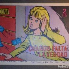 Tebeos: TEBEO - COMIC - AZUCENA - CUANDO FALTA LA VERDAD - Nº 991 - 1967 - EDICIONES TORAY. Lote 74341887