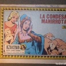 Tebeos: TEBEO - COMIC - AZUCENA - LA CONDESA MANIRROTA - Nº 911 - 1965 - EDICIONES TORAY. Lote 74342143