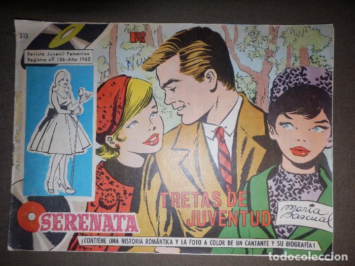TEBEO - COMIC - SERENATA - TRETAS DE JUVENTUD - 313 - TORAY 1965 (Tebeos y Comics - Toray - Otros)
