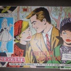 Tebeos: TEBEO - COMIC - SERENATA - TRETAS DE JUVENTUD - 313 - TORAY 1965. Lote 74345663