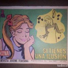 Tebeos: TEBEO - COMIC - AZUCENA - SI TIENES UNA ILUSIÓN - Nº 994 - 1967 - EDICIONES TORAY. Lote 74347451