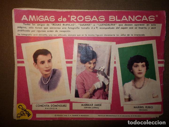 Tebeos: TEBEO - COMIC - COLECCIÓN ROSAS BLANCAS - Un chofer para Ernestina - Nº 112 - TORAY - Foto 2 - 74350391