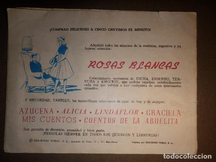 Tebeos: TEBEO - COMIC - COLECCIÓN ROSAS BLANCAS - Bibi, la insoportable - Nº 16 - TORAY - Foto 2 - 74350667