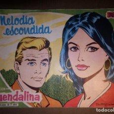Tebeos: TEBEO - COMIC - COLECCIÓN GUENDALINA - Nº 12 - MELODIA ESCOINDIDA - TORAY. Lote 74353439