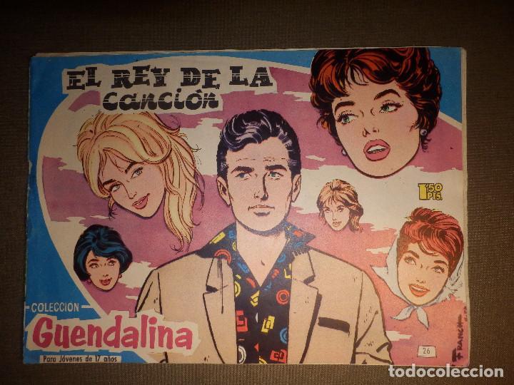 TEBEO - COMIC - COLECCIÓN GUENDALINA - Nº 26 - EL REY DE LA CANCIÓN - TORAY (Tebeos y Comics - Toray - Guendalina)