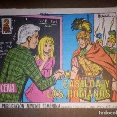 Tebeos: TEBEO - COMIC - AZUCENA - CASILDA Y LOS ROMANOS - Nº 1018 - 1967 - EDICIONES TORAY. Lote 74357735