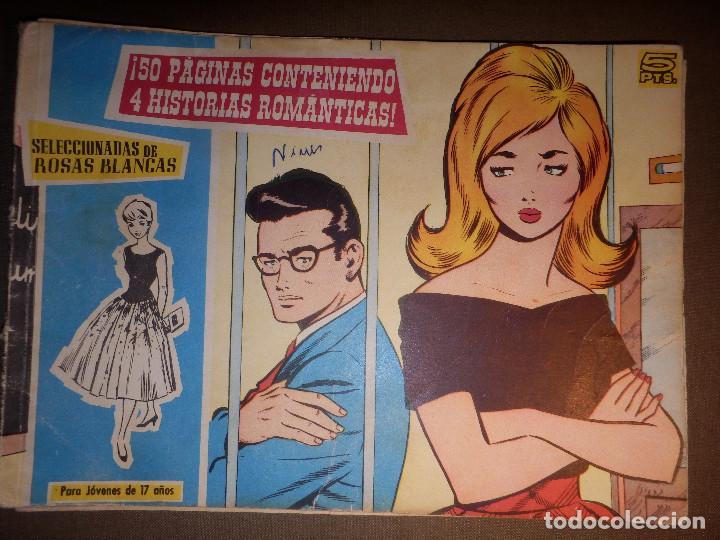 TEBEO - COMIC - COLECCIÓN ROSAS BLANCAS - 4 HISTORIAS ROMÁNTICAS - Nº 78, 79, 80 Y 81 - TORAY (Tebeos y Comics - Toray - Otros)
