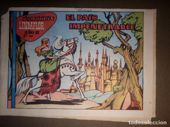 TEBEO - COMIC - COLECCIÓN LINDAFLOR - EL PAÍS IMPENETRABLE - AÑO VI - Nº 268 - TORAY (Tebeos y Comics - Toray - Cuentos de la Abuelita)
