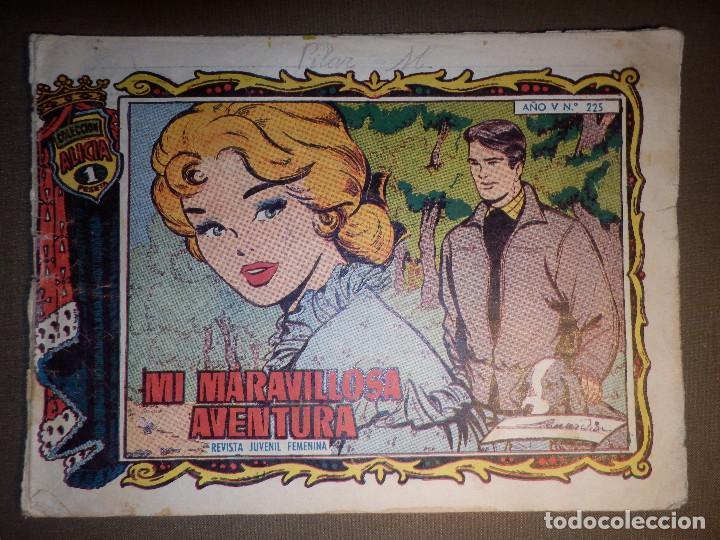 TEBEO - COMIC - COLECCIÓN ALICIA - MI MARAVILLOSA AVENTURA - AÑO V - Nº 225 - (Tebeos y Comics - Toray - Alicia)