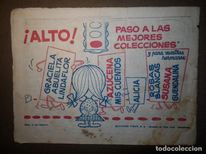 Tebeos: TEBEO - COMIC - COLECCIÓN ALICIA - MI MARAVILLOSA AVENTURA - AÑO V - Nº 225 - - Foto 2 - 74363331