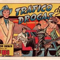 Tebeos: VICTOR DENIS AGENTE DEL FBI. TRAFICO DE DROGAS. Nº 1. EDICIONES TORAY. AÑOS 50. ORIGINAL. Lote 75240947