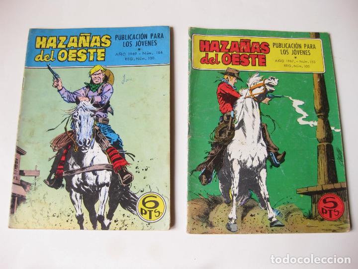 Tebeos: LOTE DE 8 COMIC DE HAZAÑAS DEL OSTE NUMERO 134, 153, 154, 184, 213, 215, 218 Y 228 - TORAY - Foto 2 - 75283775