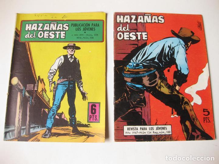 Tebeos: LOTE DE 8 COMIC DE HAZAÑAS DEL OSTE NUMERO 134, 153, 154, 184, 213, 215, 218 Y 228 - TORAY - Foto 5 - 75283775