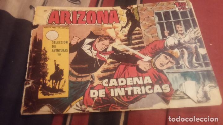 ARIZONA Nº27-189 CADENA DE INTRIGAS ORIGINAL (Tebeos y Comics - Toray - Otros)
