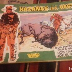 Tebeos: HAZAÑAS DEL OESTE Nº2 SERIE VERDE ORIGINAL. Lote 75295607