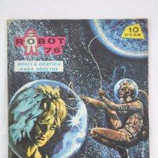 Giornalini: CÓMIC ROBOT 76 - Nº 9. ANILLOS DE ORO - ED. TORAY, 1967. Lote 75303615