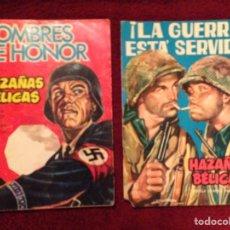 Tebeos: 2 TEBEOS. 1963.- HAZAÑAS BELICAS. Lote 75835318